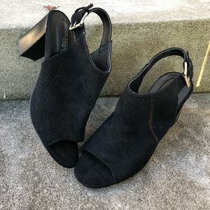 Adam Tucker by Me Too Black Booties Sz 6.5